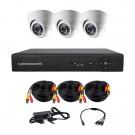 Комплект AHD видеонаблюдения на 3-и купольные камеры CoVi Security AHD-3D KIT