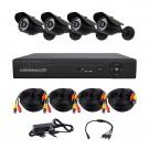 Комплект AHD видеонаблюдения на 4-е уличные камеры CoVi Security AHD-4W KIT