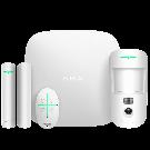 Стартовый комплект системы безопасности с фотоверификацией тревог Ajax StarterKit Cam