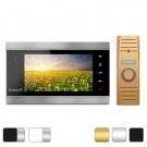 Комплект видеодомофона Intercom IM-02 + вызывная панель Slinex ML-15HR