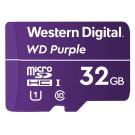 MICRO SDHC 32GB UHS-I/Western Digital PURPL/WDD032G1P0A WDC