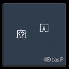 Беспроводнoй  выключатель штор BAS-IP SH-78