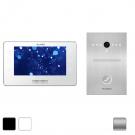 Комплект IP видеодомофона Slinex Kiara + вызывная панель Slinex Uma