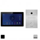 Комплект IP видеодомофона Slinex Mira + вызывная панель Slinex Uma