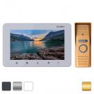 Комплект видеодомофона Slinex SM-07M + вызывная панель Slinex ML-15HR
