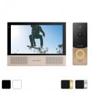 Комплект видеодомофона Sonik 7 + вызывная панель Slinex ML-20HD