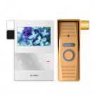 Комплект видеодомофона Slinex SQ-04 + вызывная панель Slinex ML-15HR