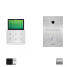 Комплект IP видеодомофона Slinex Zian + вызывная панель Slinex Uma