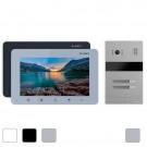 Комплект 2 видеодомофонов Slinex SM-07M + вызывная панель Slinex MA-02