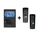 Комплект Slinex SQ-04M (черный) + Slinex ML-16HR (черный, серый антик)