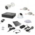 Комплект видеонаблюдения Tecsar AHD 2OUT-MIX