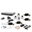 Комплект видеонаблюдения Tecsar AHD 4IN-3M DOME