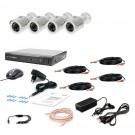 Комплект видеонаблюдения Tecsar AHD 4OUT-2M-AUDIO