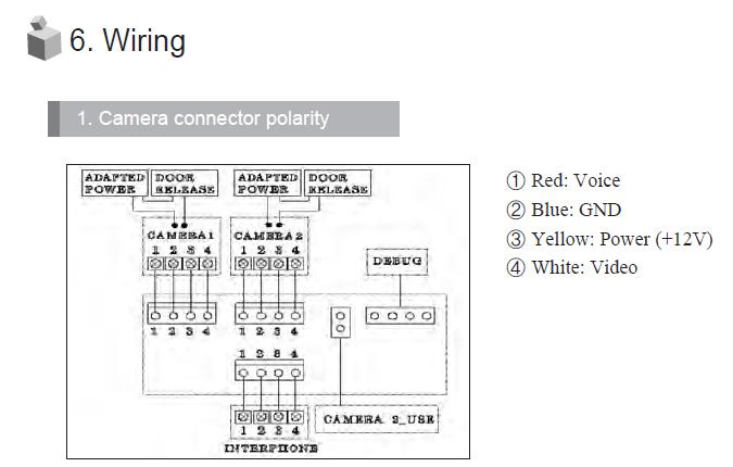 commax DR-201D схема электрическая принципиальная